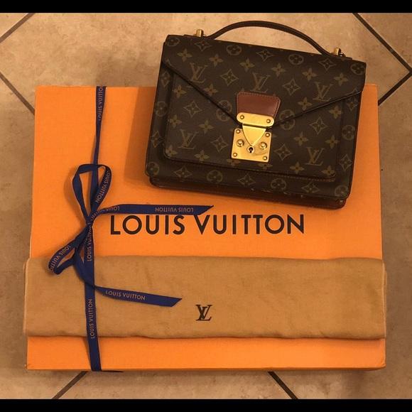 Louis Vuitton Handbags - Authentic LOUIS VUITTON Monceau 26 Handbag 9362f4462ab78
